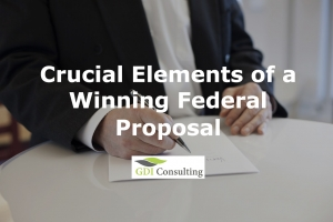 Crucial Elements of a Winning Federal Proposal
