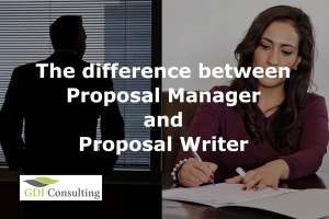 Difference between Proposal Manager and Proposal Writer