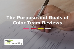 The Purpose and Goals of Color Team Reviews
