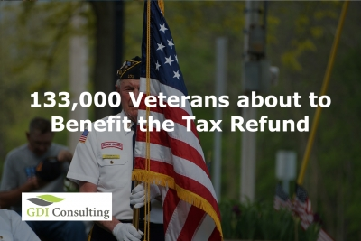 133,000 Veterans about to Benefit the Tax Refund