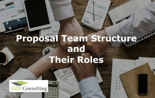 Proposal Team Structure and their Roles