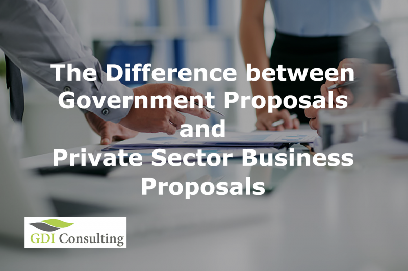 The Difference between Government Proposals and Private Sector Business Proposals
