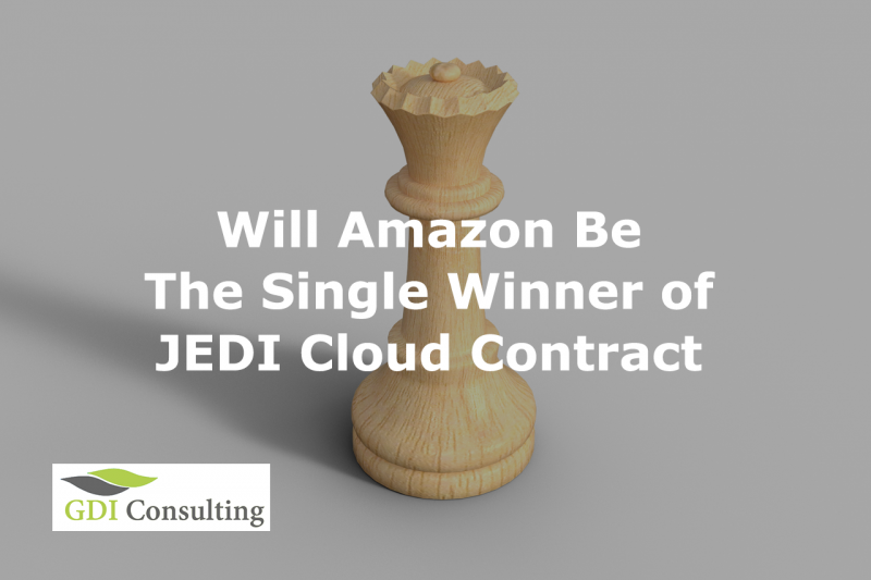 Will Amazon Be the Single Winner of JEDI Cloud Contract