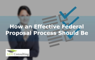 How an Effective Federal Proposal Process Should Be