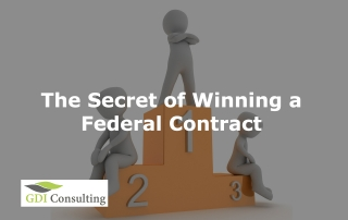 The Secret of Winning a Federal Contract