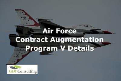 Air Force Contract Augmentation Program (AFCAP) V Details