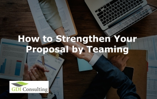 How to Strengthen Your Proposal by Teaming