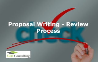 Proposal Writing - Review process