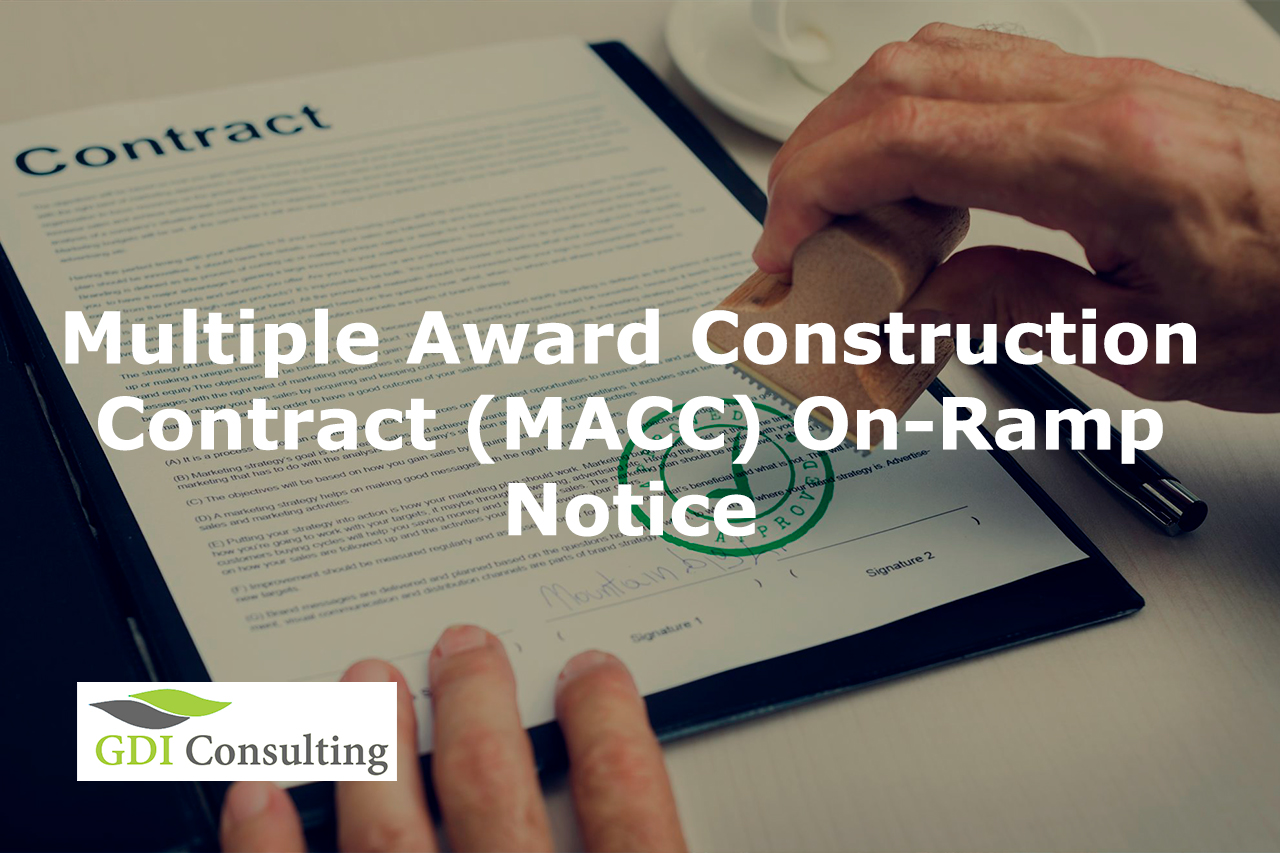 multiple award construction contract macc on ramp notice