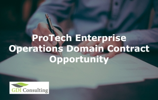ProTech Enterprise Operations Domain Contract Opportunity