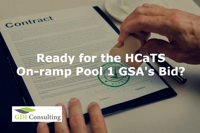 Ready for HCaTS On-ramp Pool 1 GSA's Bid?