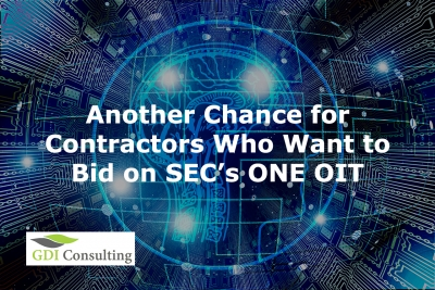 Another Chance for Contractors Who Want to Bid on SEC's ONE OIT