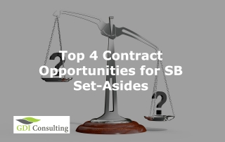 Top 4 Contract Opportunities for SB Set-Asides