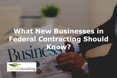 new businesses in federal contracting