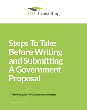 Writing and Submitting GDI Consulting